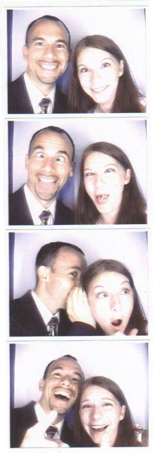Britt and Chris' Wedding - Ryan and Vicky Photobooth Shots