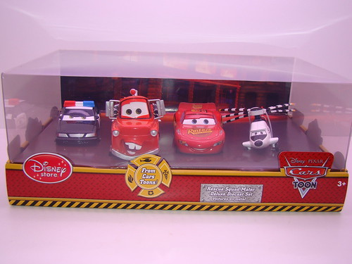 disney store CARS rescue squad mater 4 pc set (1)