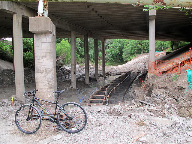 Trail Construction Under Renner