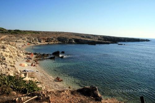 Cala Rotonda at Favignana Island, Sicily, Italy