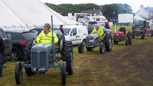 Ferguson Tractor at the  Caithness County Show