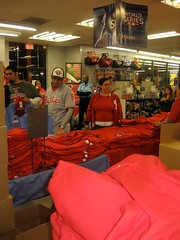 It was like a party in Modells