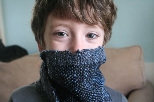 for Rav: first woven scarf