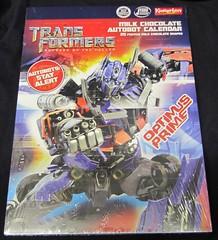 Transformers: Optimus Prime Advent Calendar
