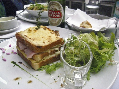 Croque Monsieur at Cafe des Arts