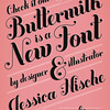 'Buttermilk' Font, From Jessica Hische