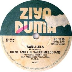irene & the sweet melodians label