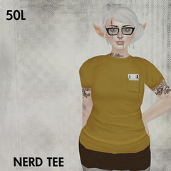 50L Friday - Week 15 - This is a Fawn - Nerd Tee