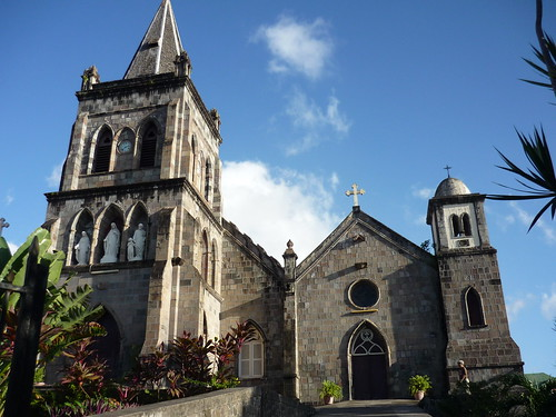 Roman Catholic church in Roseau, Dominica