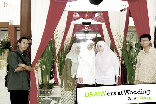 DaaFa'ers on wedding