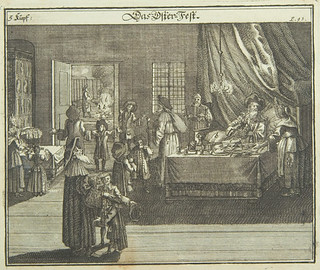 Passover, 1724, from Juedisches Ceremoniel