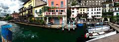 Il porto turistico di Limone sul Garda
