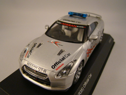 Kyosho Nissan Skyline R35 GTR Safety Car (2)