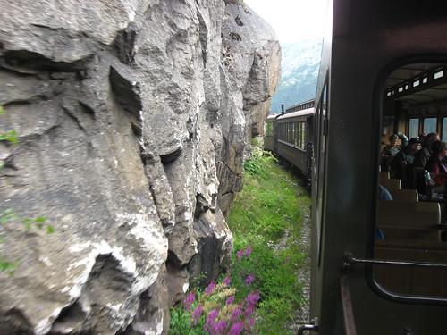 White Pass train ride
