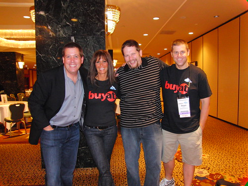 Peter Shankman, Missy Ward, Chris Brogan and Shawn Collins at Affiliate Summit East 2009