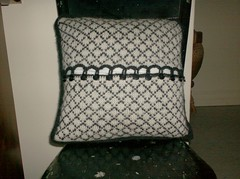 A Touch of Elegance Pillow - back