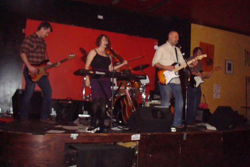The Dive Poets at the Blue Fugue