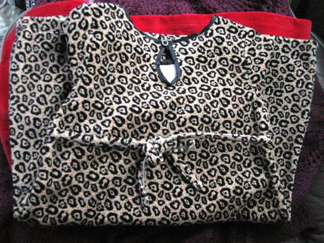 Velvety Cheetah for 3-year-old Charity