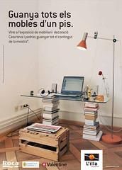 """Cartell exposició """"Casa Teva"""" de L'i..."""