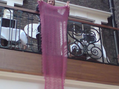 siobhan's lace shawl