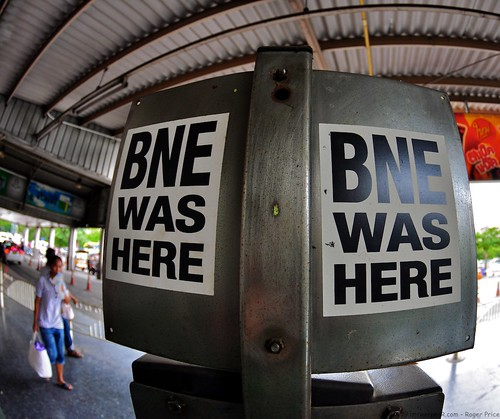 BNE in Bangkok by antwerpenR