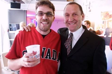 Molson Canadian Hockey House Announcement by John Bollwitt.