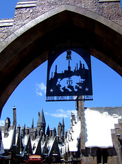 Entering the land of Harry Potter