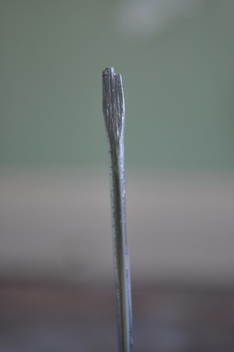 chipped screwdriver