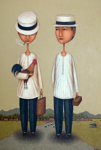 Two Gentlemen by Dominic Rubio