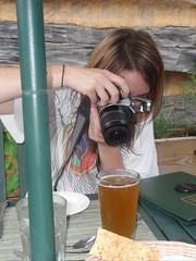 Kristine....likes beer