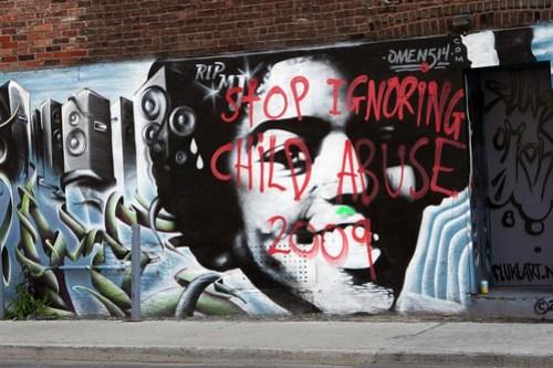 Stop ignoring child abuse