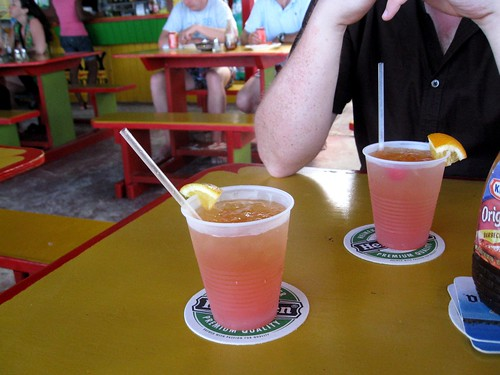 rum punch... this time, on the french side of the island!
