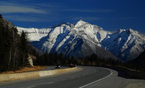 Transcanada Highway at Banff 2009