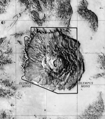 Olympus Mons and Arizona