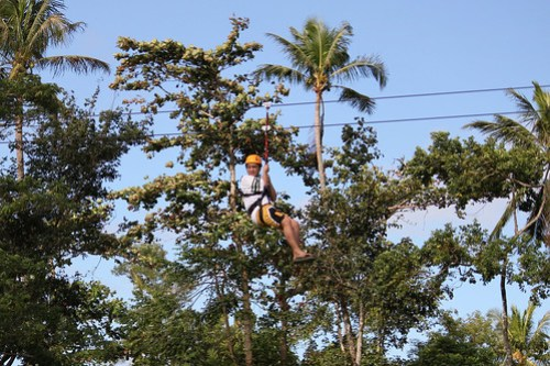 Fly Pinoy Zipline 2 in Caliraya