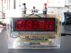 Retro LED Clock