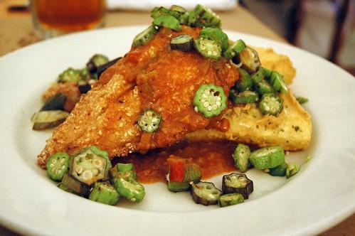 Sesame-Crusted Catfish - Hominy Grill, Charleston