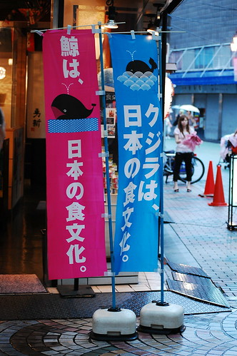 whale meat supermarket