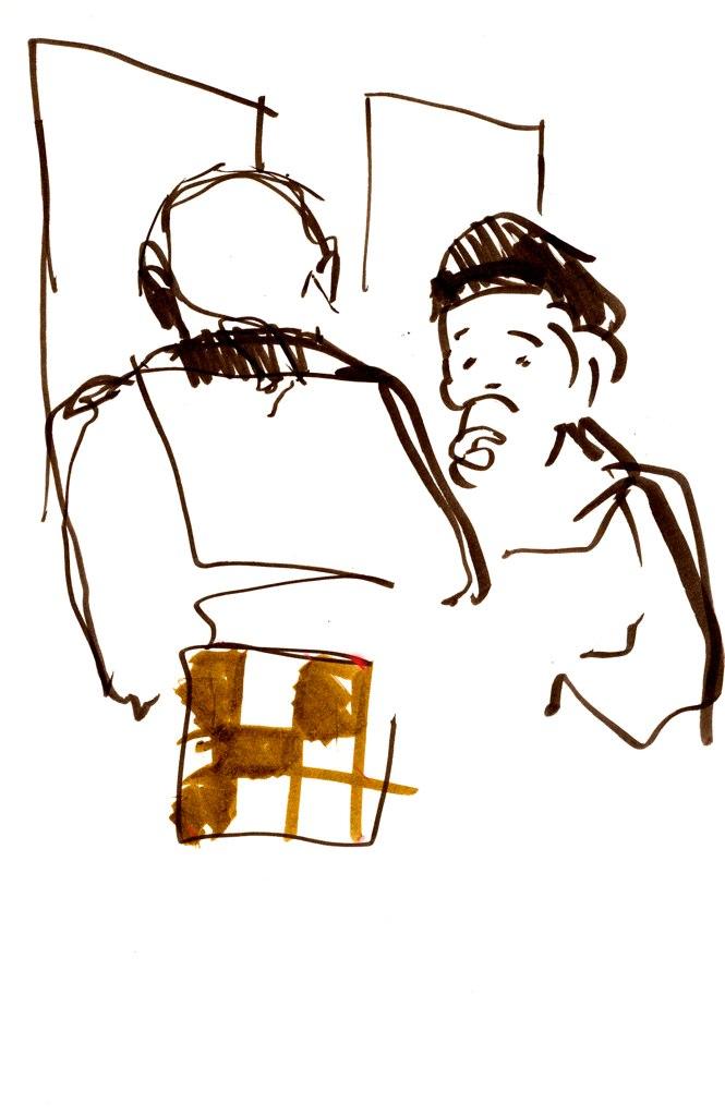 Mannen med väskan