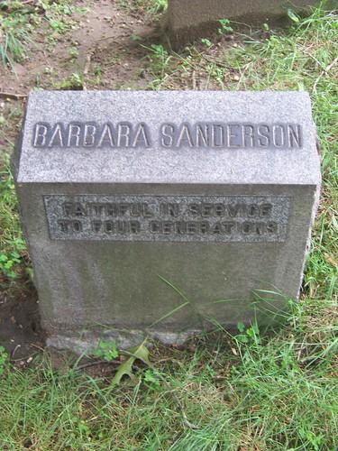 Barbara Sanderson