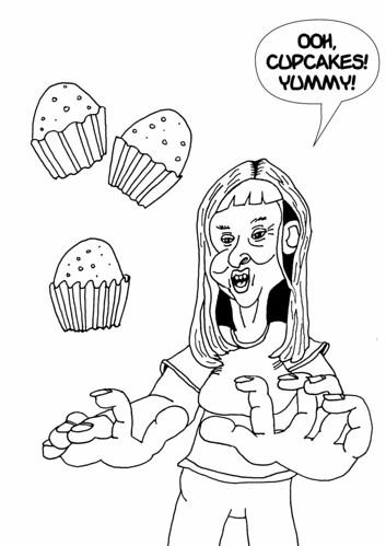 Ooh, Cupcakes! Yummy!