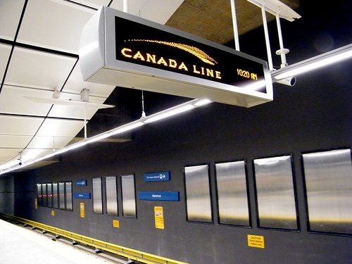 Waterfront Canada Line Station by Miss604 on Flickr.com