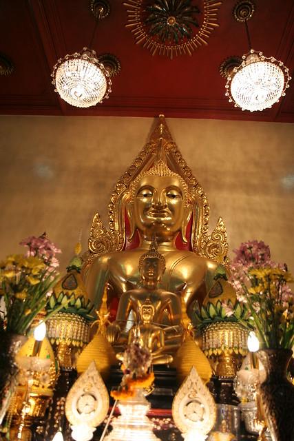 Buda enfadado