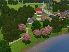 Mitt hus i The Sims 3 (närmaste)