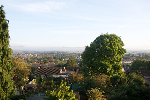 Misty Layer over Tiverton