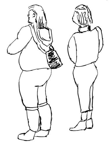 Life drawing, part 3