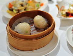 Steamed Diced Lobster Dumplings