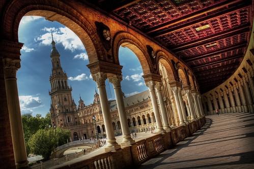 Plaza de España. Sevilla. 500 visitas!!! GRACIAS