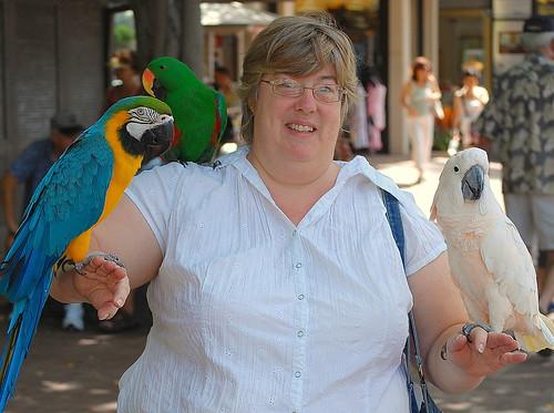 Me & parrots