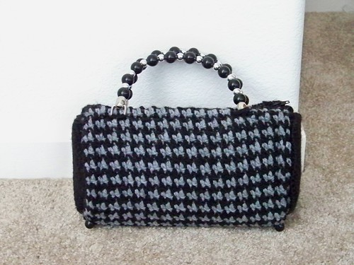 Houndstooth Bag 4